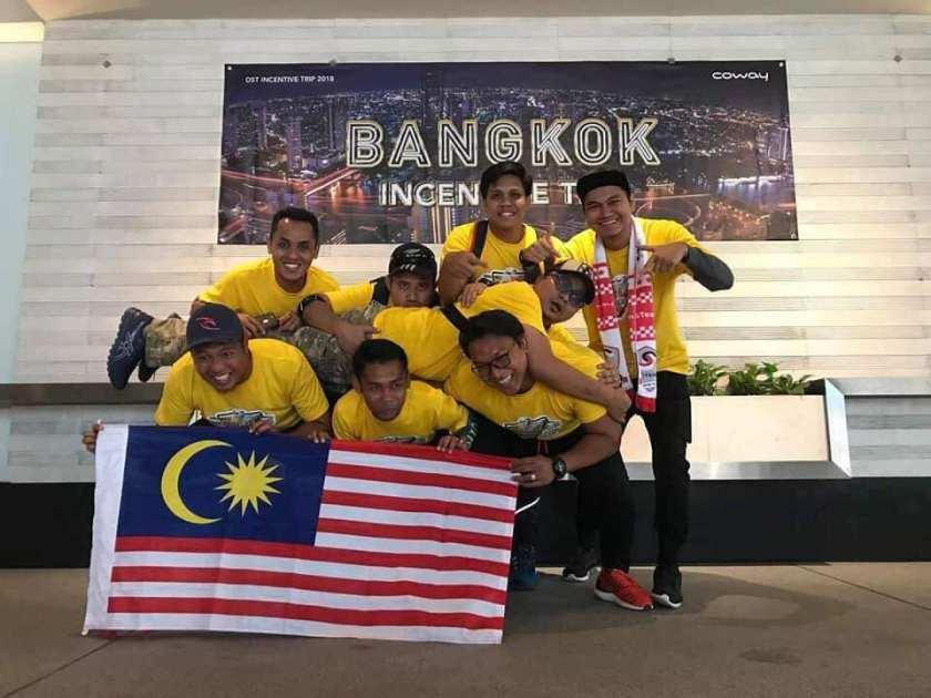 trip ke bangkok kerja coway 2019